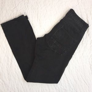 Matchstick dark brown pants.    Size 29